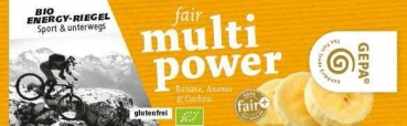 Bio Fair Multi Power Banane (VE 30)