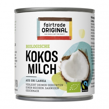 Bio Kokosmilch (99%), 270ml (VE = 9)