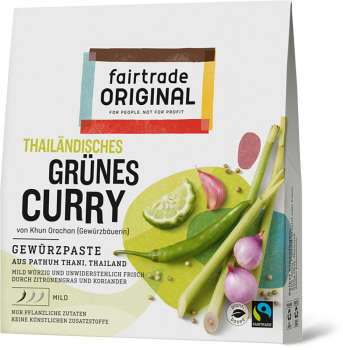 Grüne Curry Paste, 70g (VE = 6)