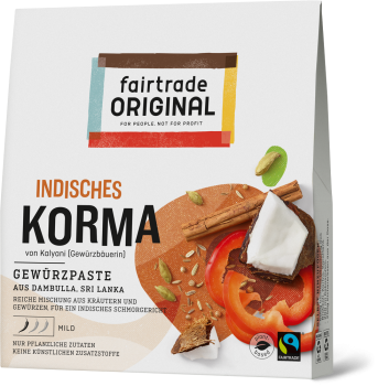 Curry Paste Korma, 70g (VE = 6)