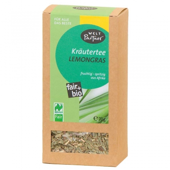 Kräutertee Lemongras, bio°, Naturland Fair, 60g (VE 6)