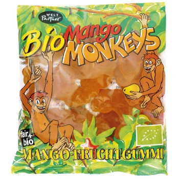 Bio-Mango Monkeys°, Fruchtgummi, 100g (VE 12)