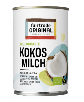 Kokosmilch (99%), 400ml, Bio, Fairtrade